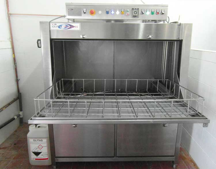 Industrial Cabinet Washers ~ Newsmiths utensil washer